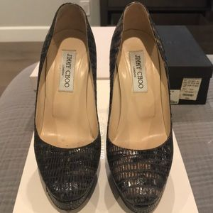 "Jimmy Choo 4.5"" heels"